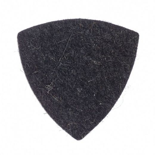 Felt Tones Gypsy Black Wool Felt 1 Guitar Pick